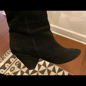 Jeffrey Campbell over-the-knee suede boots